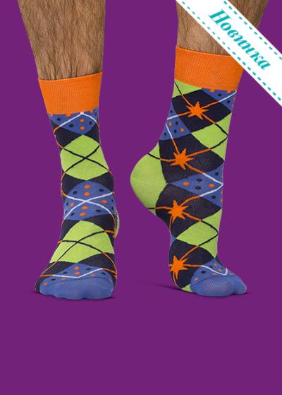 3f01ced37c3 ... Цветные носки JNRB  Носки Звездные ромбы ...