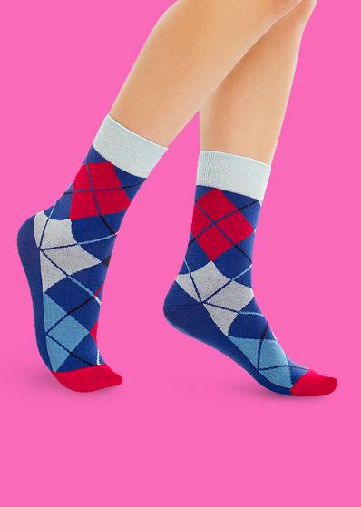 56df672a235 ... Цветные носки JNRB  Носки Русские ромбы