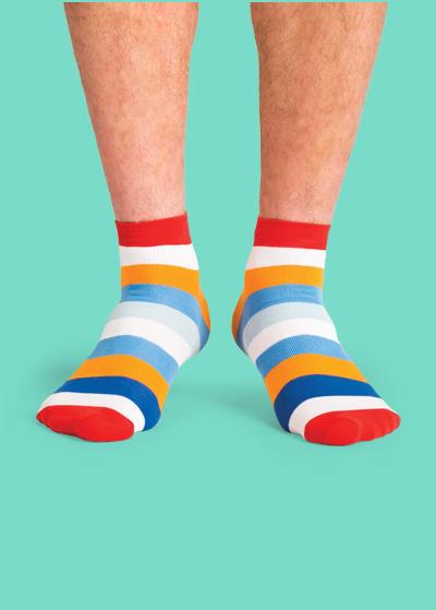 c8f94decf2e5d Носки Полосатые царские | Купить мужские и женские цветные носки ...